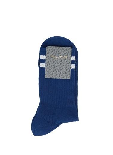 Alto Socks Alto Socks   Çizgili Erkek Çorap 101643922 Mavi